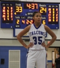 Cedar Crest girls' basketball 085