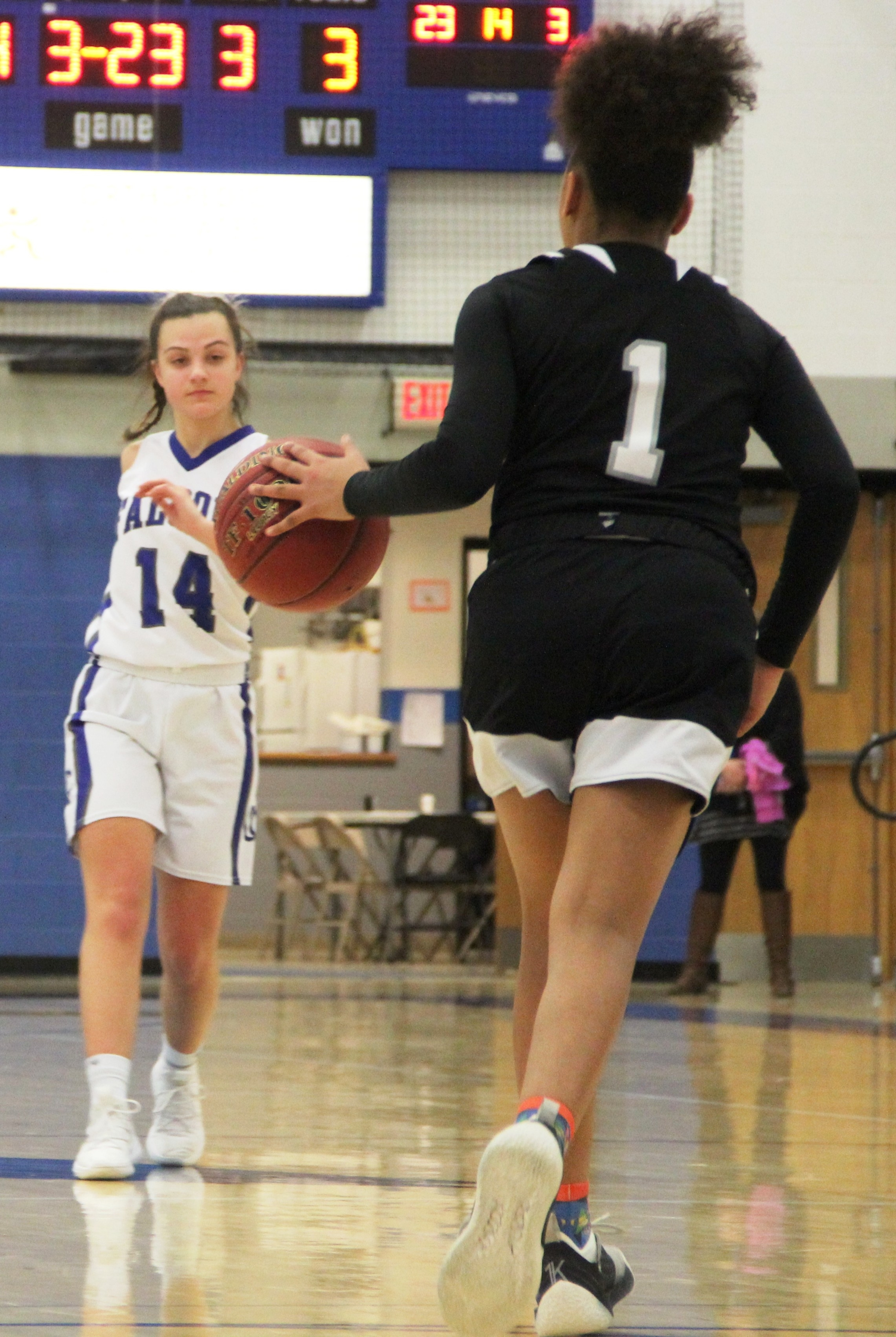Cedar Crest girls' basketball 051