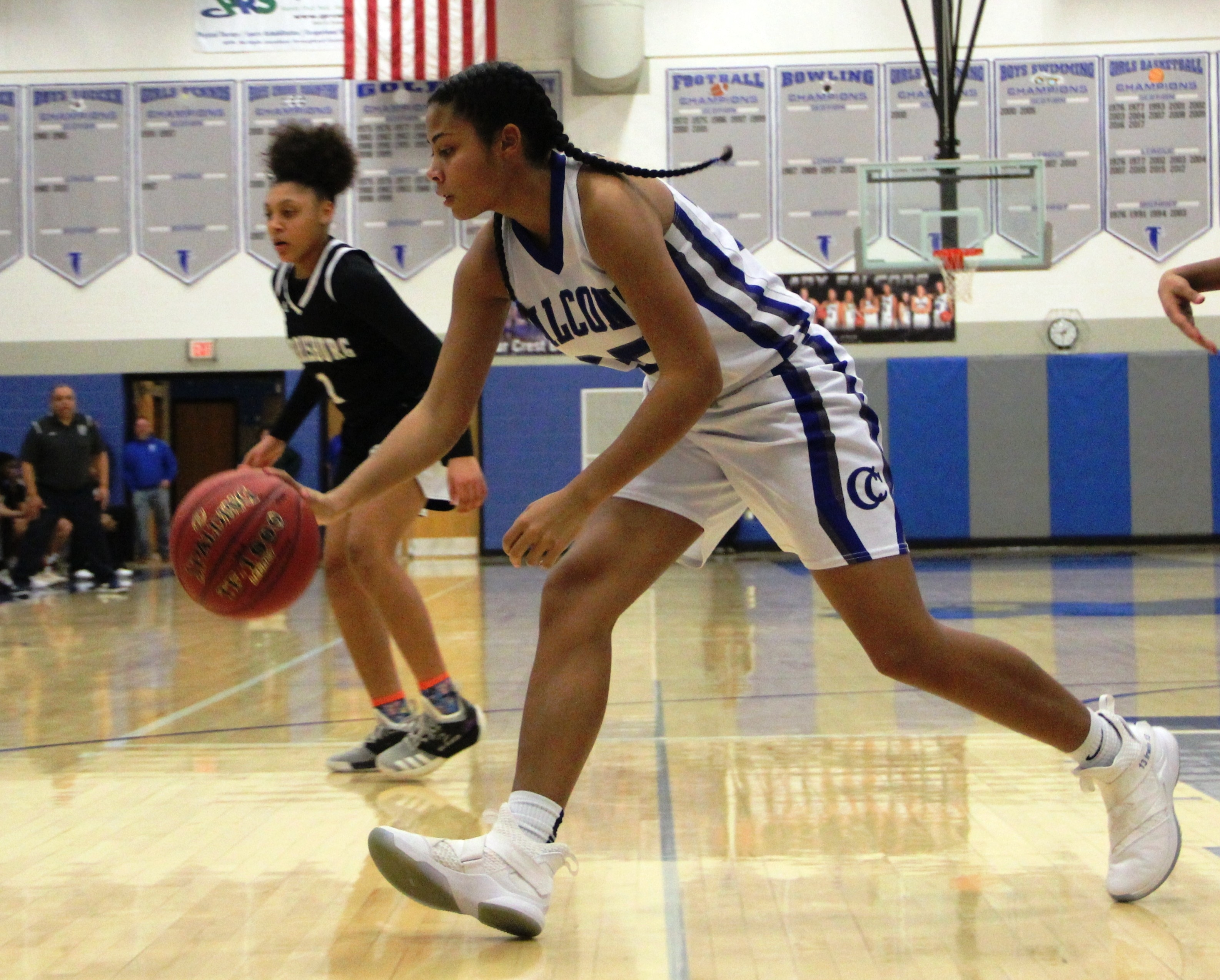 Cedar Crest girls' basketball 054