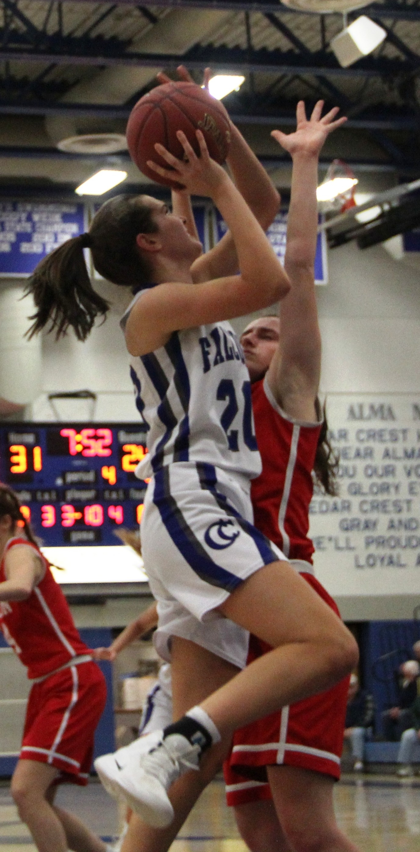Cedar Crest girls' basketball 066
