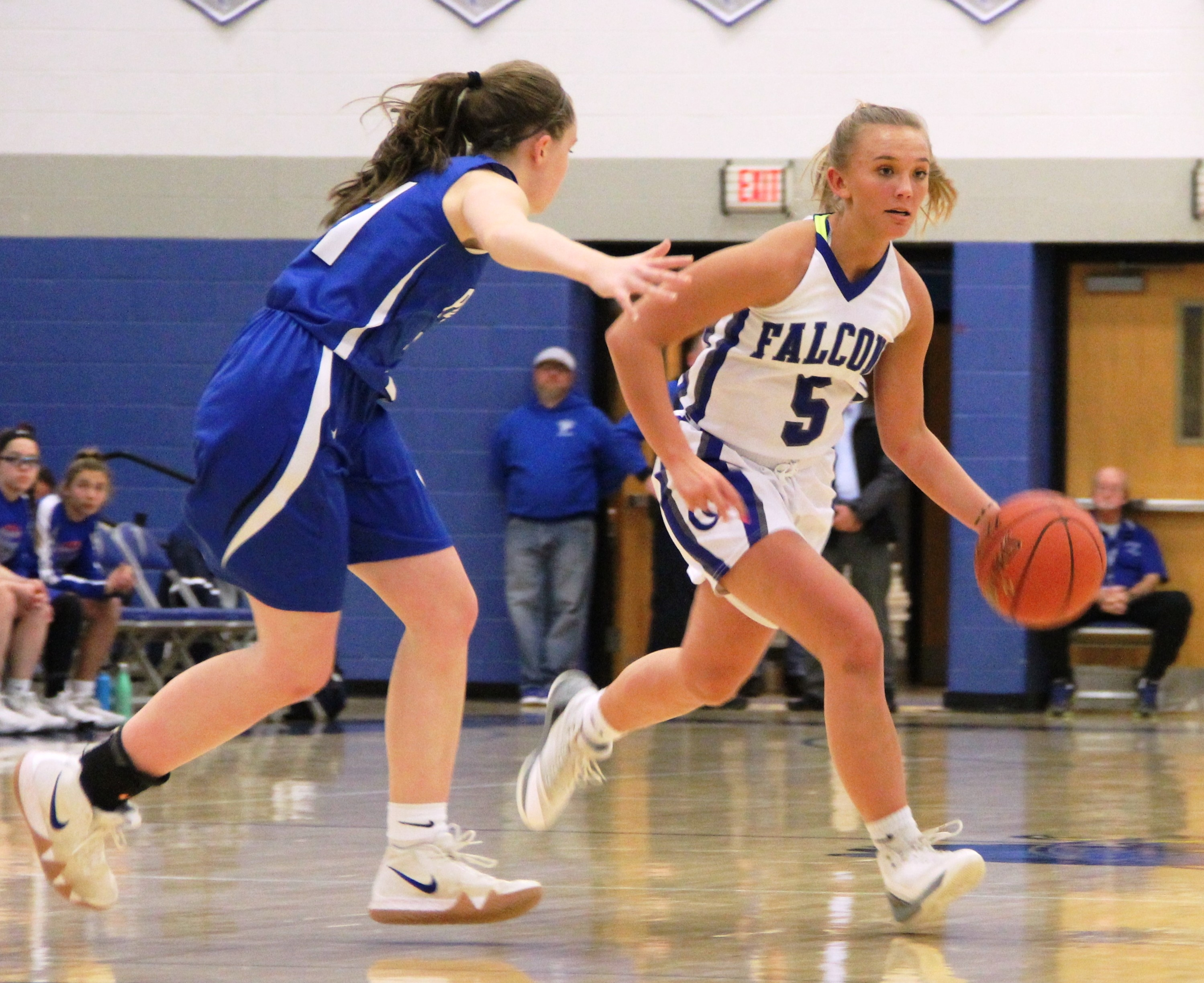 Cedar Crest girls' basketball 067