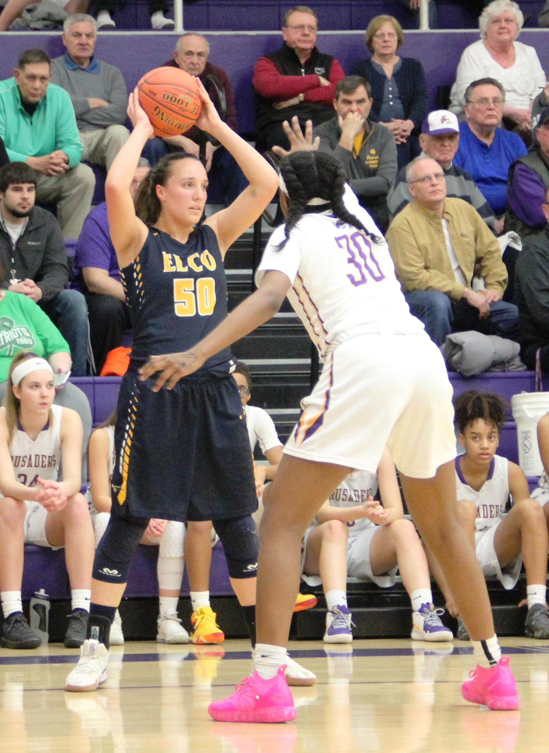 Elco girls' basketball 018