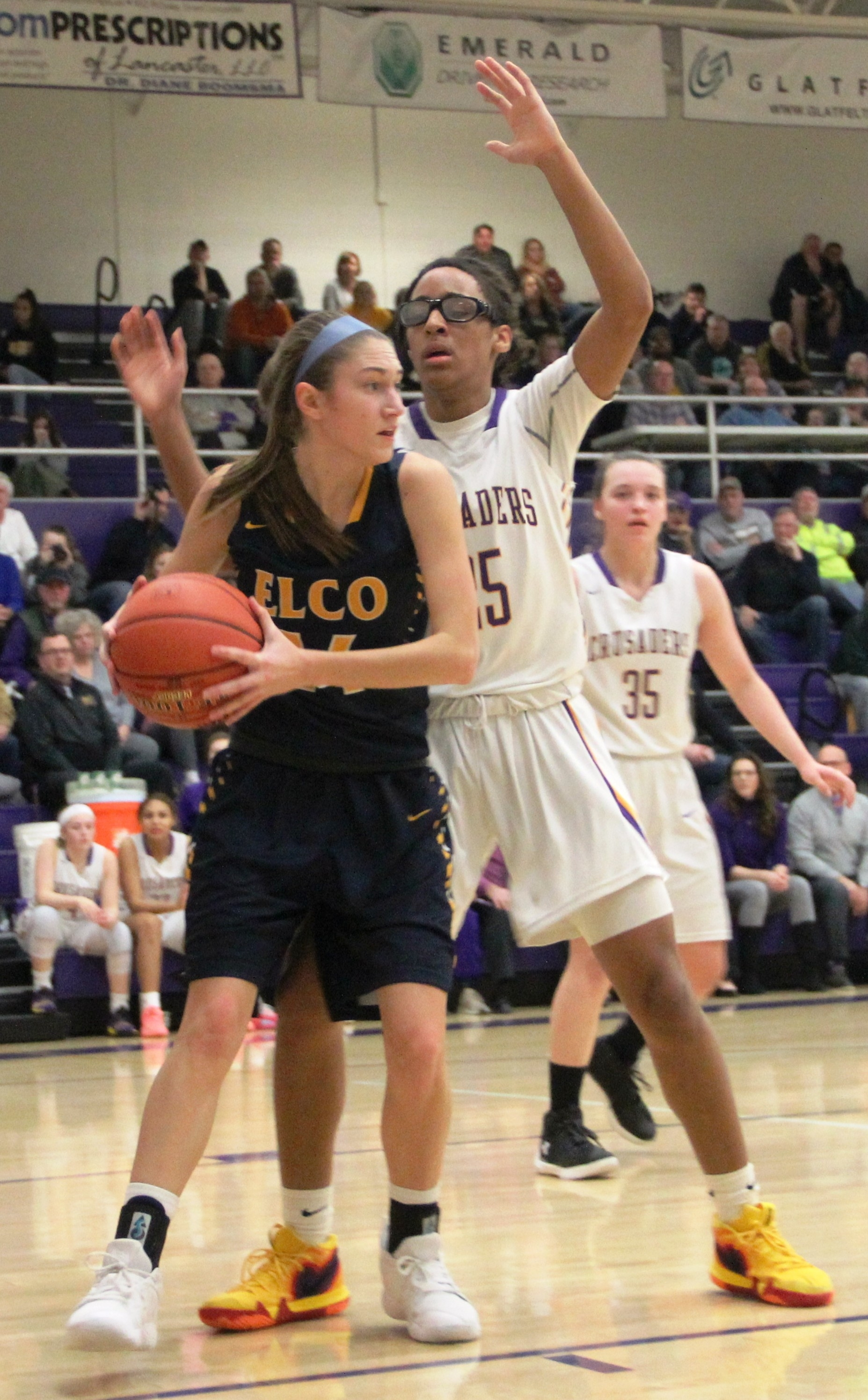 Elco girls' basketball 030