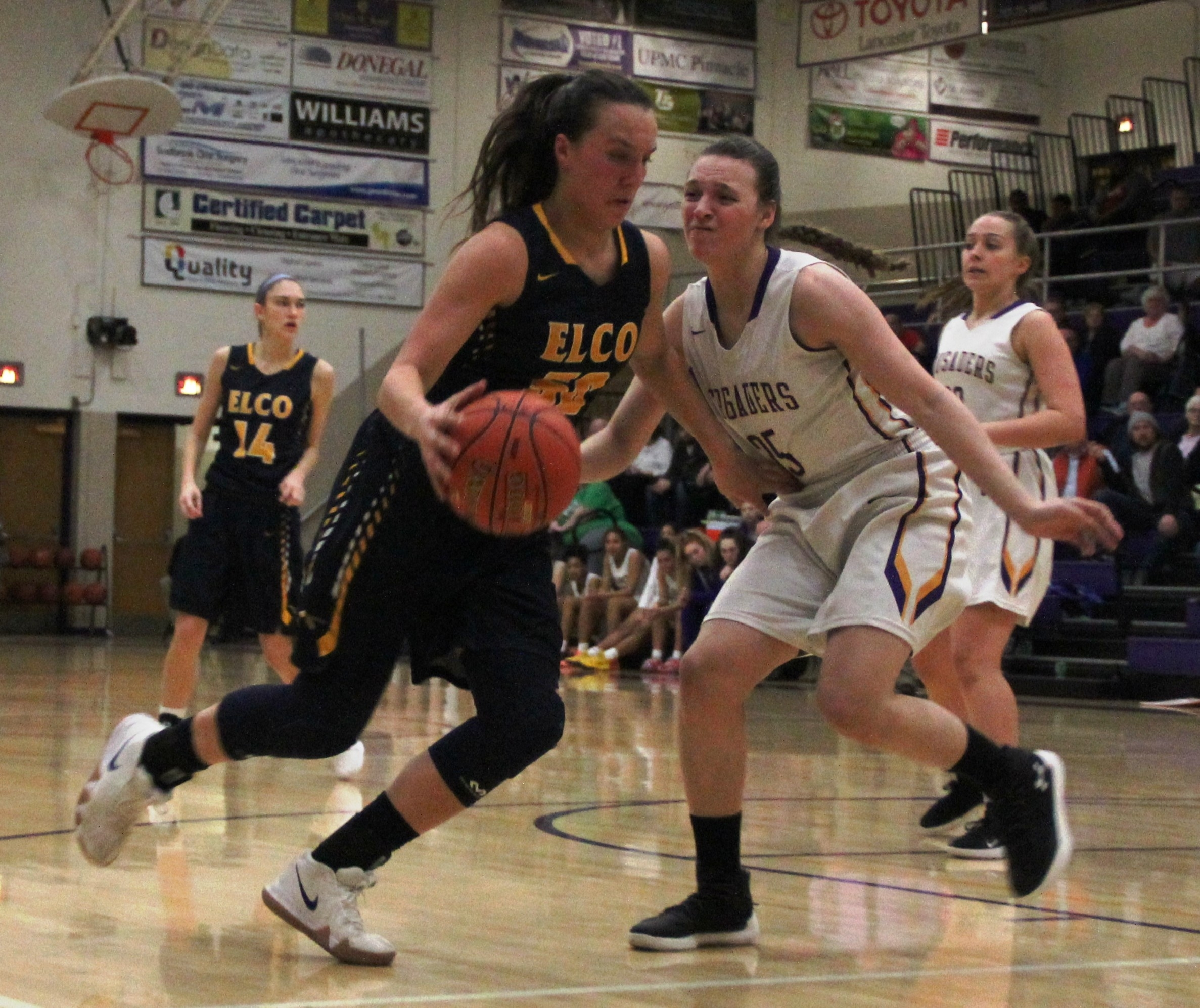 Elco girls' basketball 042