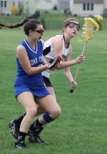 Cedar Crest larosse, Palmyra lacrosse 011
