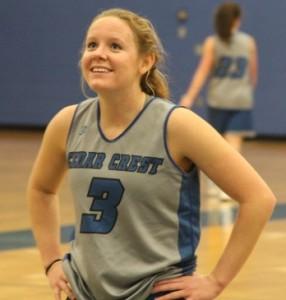 Cedar Crest basketball, Annville-Cleona basketball 021