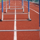 Athletics is all about clearing hurdles