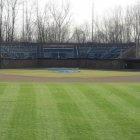 The view from center field looking in