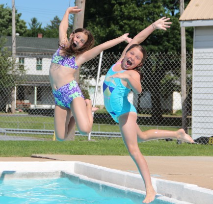 Want to Stay Fit, Trim? Go for a Swim, at Myerstown Pool