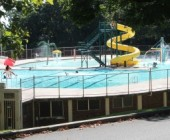 For Fun in Sun, No Pool Water Beckons Like Gingrich Memorial's