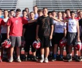 Hoffer Brushes Aside Autism, Tackles Football