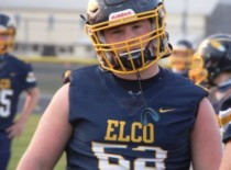 Logan Tice Played Elco's Last Three Games with ACL Tear