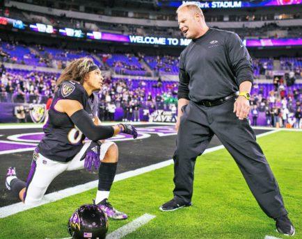 Steve Saunders Makes the Baltimore Ravens Organization Stronger